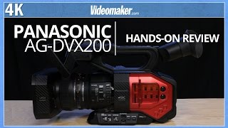Panasonic AG-DVX200 Hands-on Review