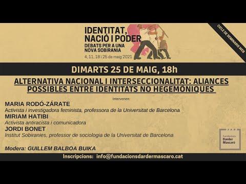 Seminari 'Identitat, nació i poder' (sessió 4 i darrera)