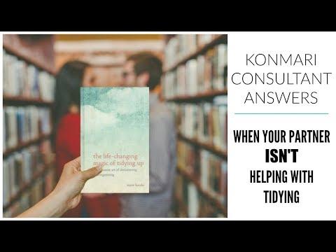KonMari Consultant | When Your Partner Won't Help