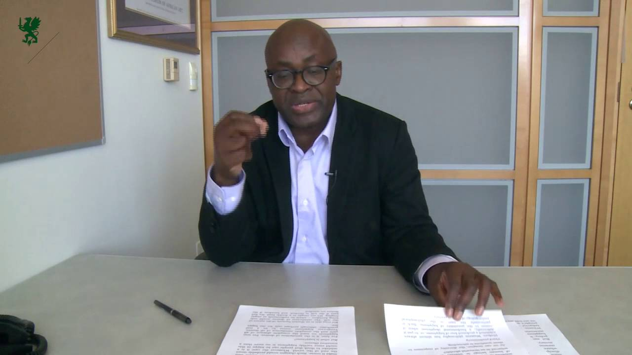 af4e7524be54 Achille Mbembe. Technologies of Happiness in the Age of Animism. 2016 -  YouTube