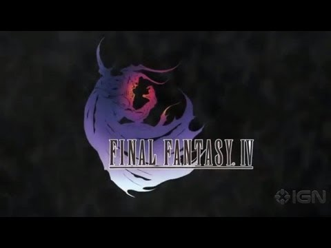 Final Fantasy IV - iOS Trailer