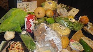 Blue Apron Unboxing Vegetarian