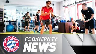 Performance tests at Säbener Street – Busy training schedule announ...