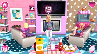 Barbie Dreamhouse Adventures - Barbie & Friends Design, Cook, Dance - DIY Games For Girls - P2