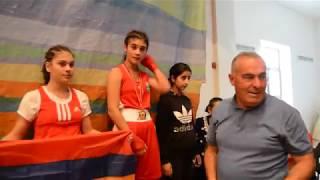 Международный турнир по боксу  финал  Элени Холидис (Греция)-Нарине Мартиросян (Ехекнадзор)