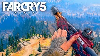Far Cry 5 - FIRE BREATHING SHOTGUN (Far Cry 5 Free Roam) #22