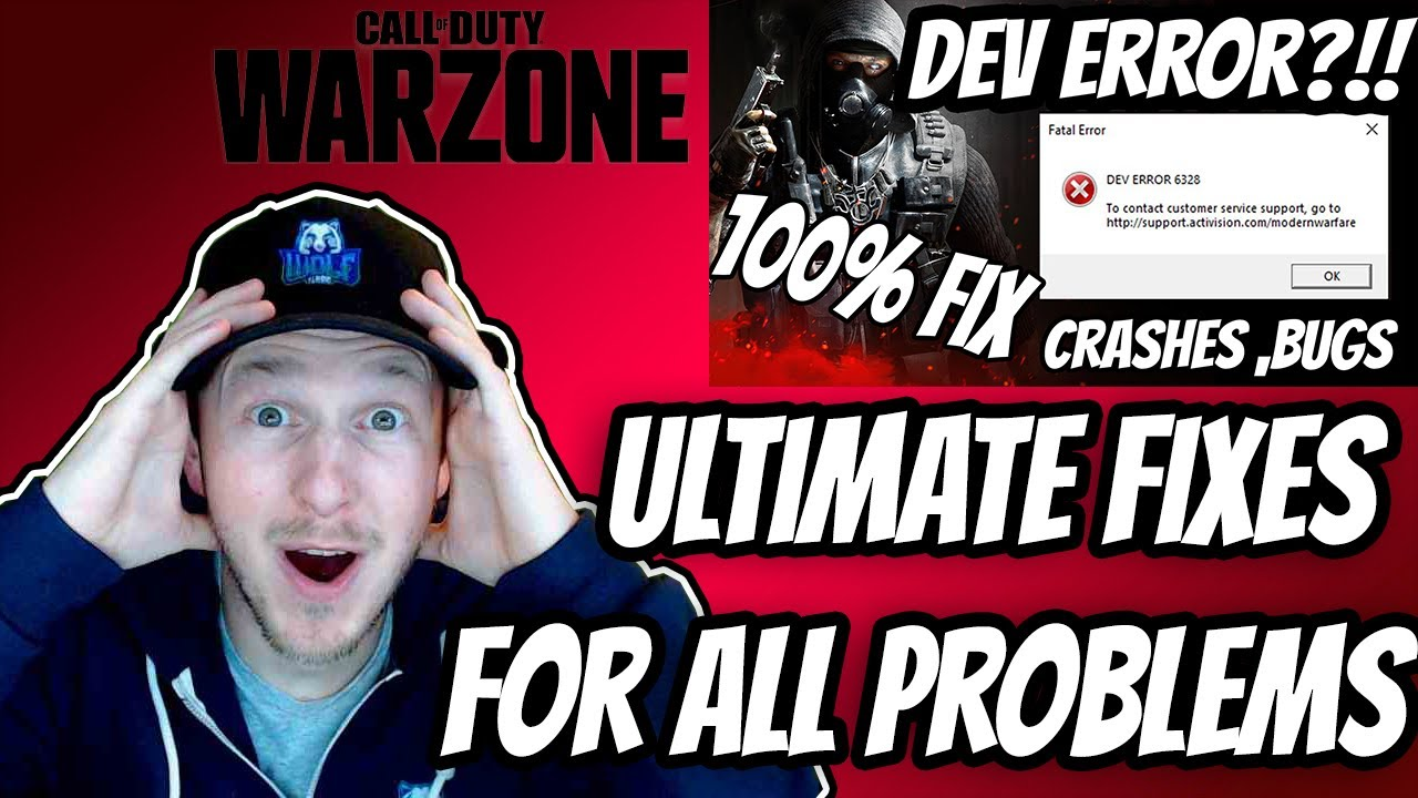 Download UPDATE!!! | How To Fix ALL Call Of Duty Warzone Dev Errors, Crashes And Black Screens