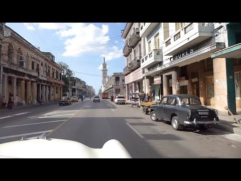 Havana, Cuba - A Ride in a Vintage 1954 Ford Crestline through the Streets of Havana HD (2017)