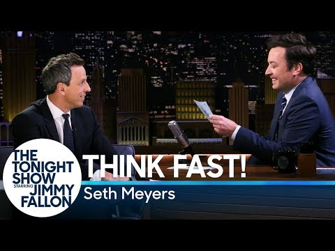 Think Fast! withSeth Meyers