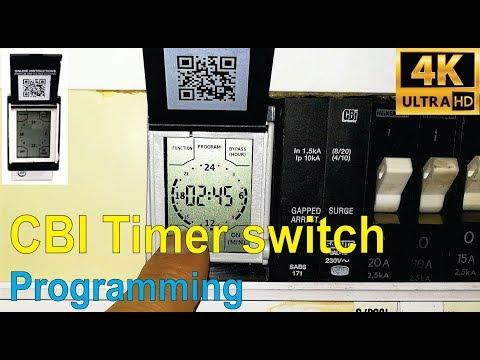 How To Program The CBI QAT-TRDM Timer Switch