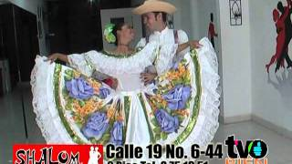 """TVO BIEN CON LA ACADEMIA SHALOM """"HOY BAILE DEL SANJUANERO HUILENSE"""" JUNIO 06 DE 2011.mpg"""