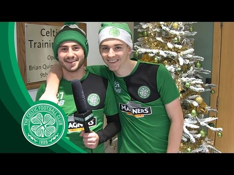 Celtic FC - FUNNY | KT & Paddy's Christmas Message