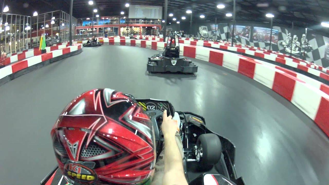 Go Kart Race At K1 Speed Sacramento Crash Youtube