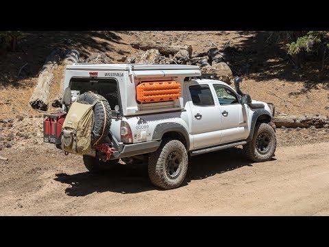 Walk Around: Jon Burtt's Toyota Tacoma W/ Flippac Camper