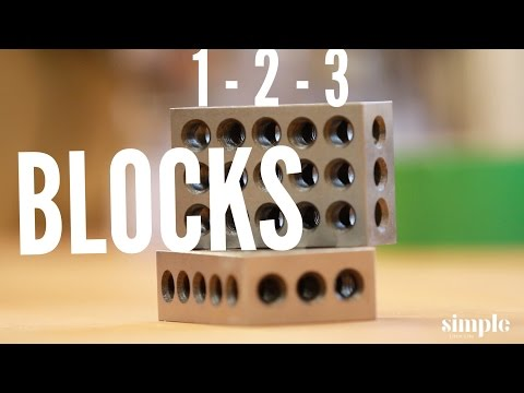 Tool Time Tuesday 1-2-3 Blocks. A machine shop staple