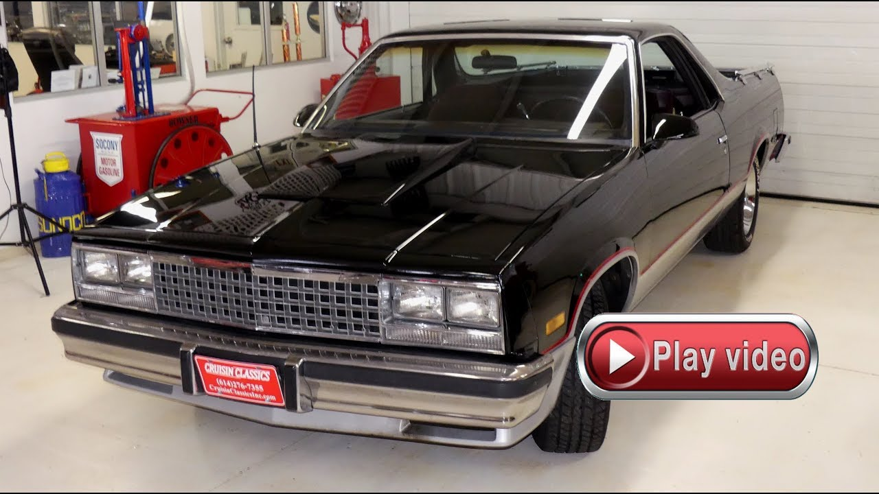 sold sold sold 1986 chevrolet el camino 350 auto with air [ 1280 x 720 Pixel ]