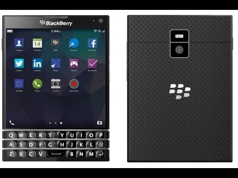 BLACKBERRY Passport, smartphone BB terbaru dengan desain jadul