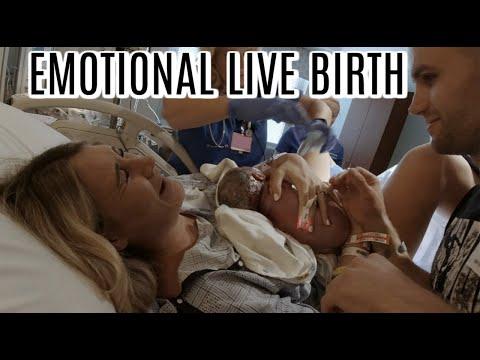 EMOTIONAL LIVE BIRTH VLOG | LABOR AND DELIVERY BIRTH VLOG 2019 | Tara Henderson