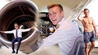 A Day In The Life of A Famous Instagram Pilot | Featuring Pilot Patrick!
