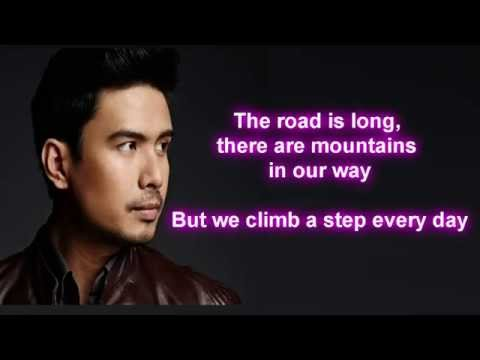 Christian Bautista - Up Where We Belong (Lyrics)