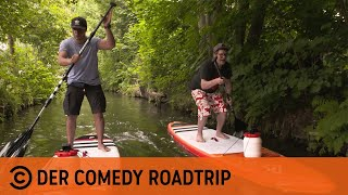 Comedy Roadtrip – Stand-Up-Paddling im Osten Deutschlands