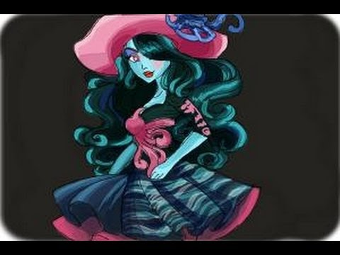 Monster High Haunted Drawings How to Draw Vandala Doubloons