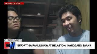 """#BreakItDown: """"Effort"""" sa Panliligaw at Relasyon, Hanggang Saan?"""