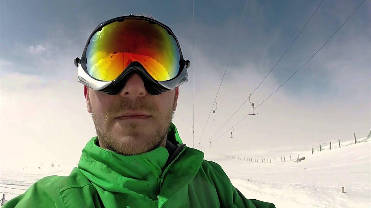Kartalkaya Ski Resort Snowboarding In Turkey Youtube