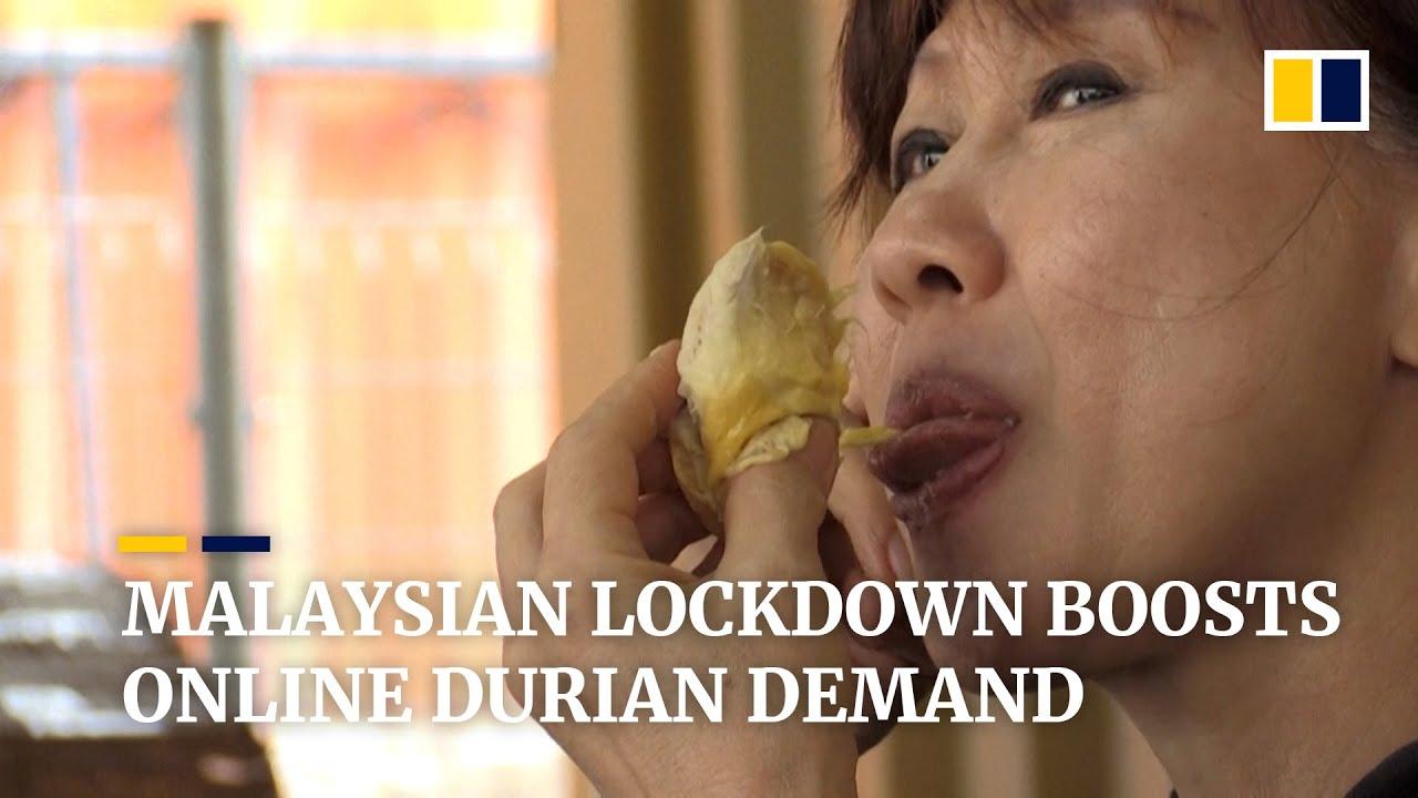 Malaysia's durian sellers see boom in online orders during coronavirus lockdown