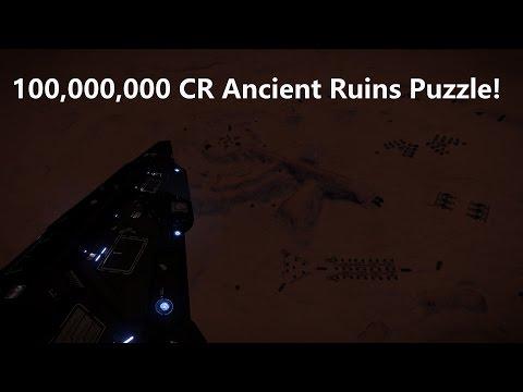 Elite Dangerous - 100,000,000 CR Ancient Ruins Puzzle! [Part 1]