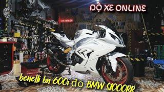 chi tiết benelli BN600i độ BMW S1000rr tại Độ Xe Online