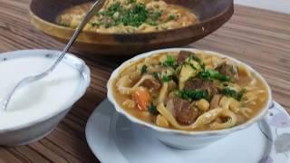 Лагмани Тоҷикӣ (Угро) - Таджикский Лагман (субт.) - Tajik Noodles (subt.)