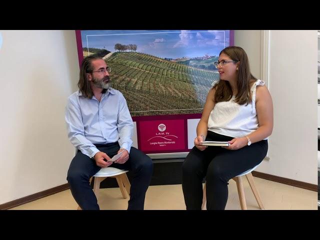 Intervista a Dino Bosco in occasione dell'inaugurazione della XV edizione di Bacco&Orfeo