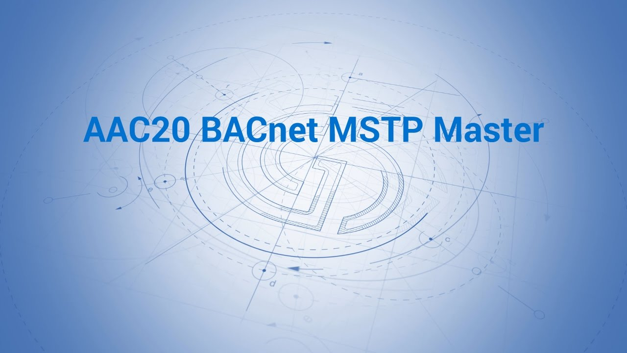 aac20 bacnet mstp master youtube rh youtube com Dome Camera Wiring Diagram Two Wire System to a RTH2300 Wiring