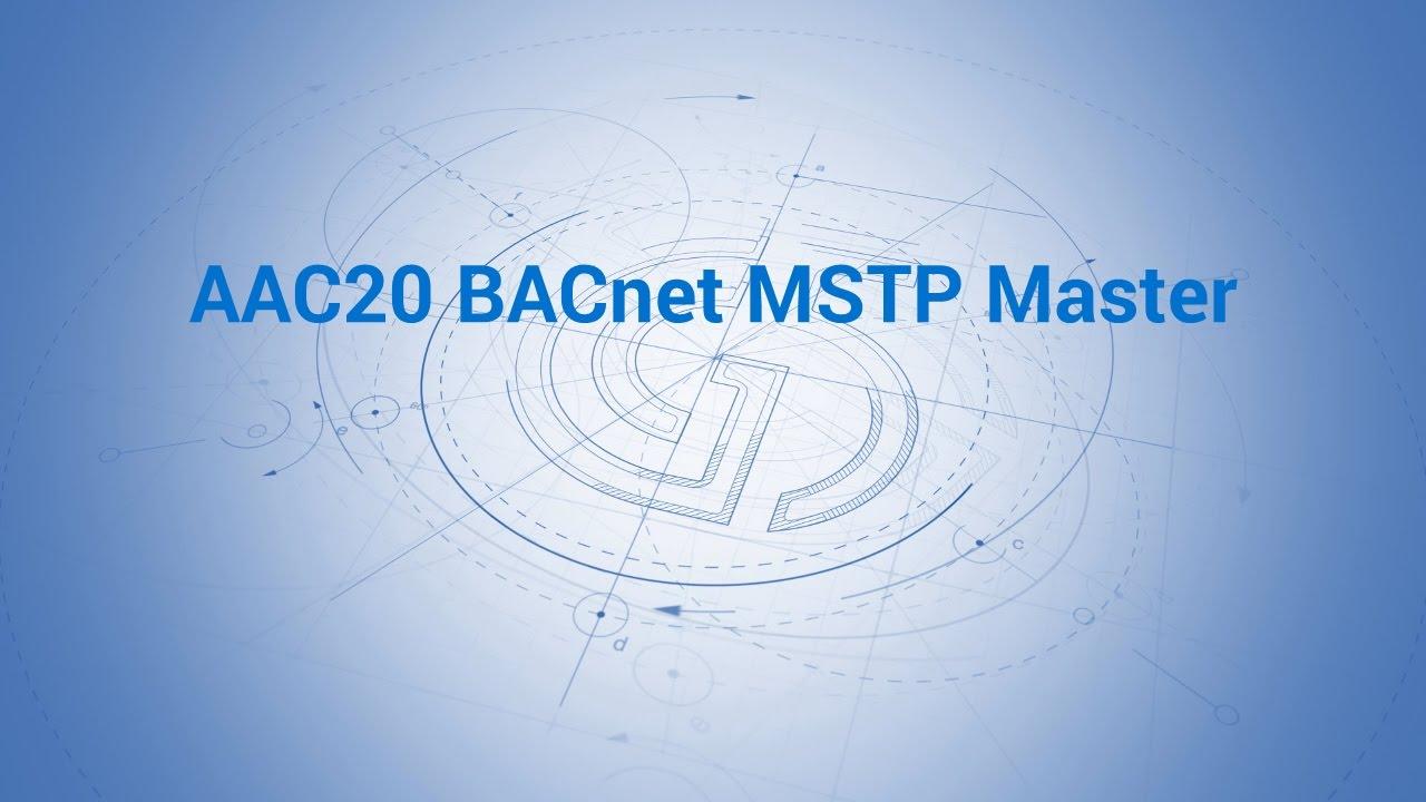 aac20 bacnet mstp master youtube rh youtube com BACnet MS TP Addressing BACnet MS TP Wiring