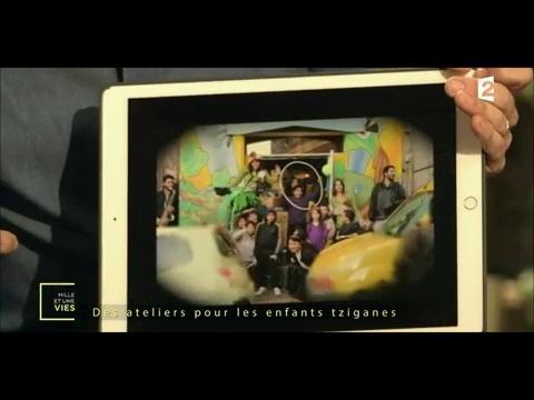 Elle aide les population tziganes et gitanes - Arte Chavalo - Mille et une vies