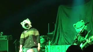 This is the band Man With A Mission from Japan opening the show for...