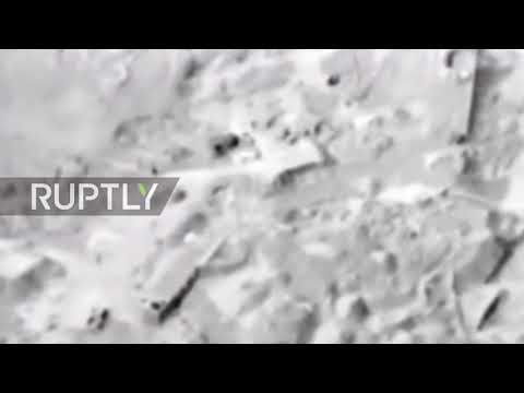 Syria: Russian MoD releases Idlib airstrike footage, rejects strikes on civilians settlements