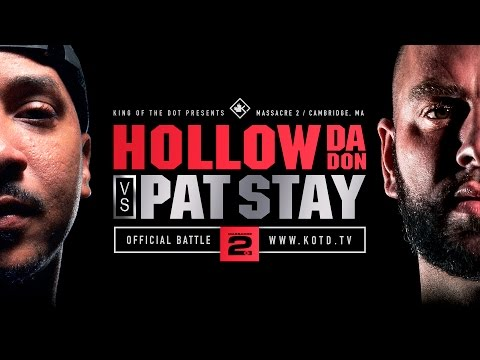KOTD - Rap Battle - Hollow Da Don vs Pat Stay | #MASS2