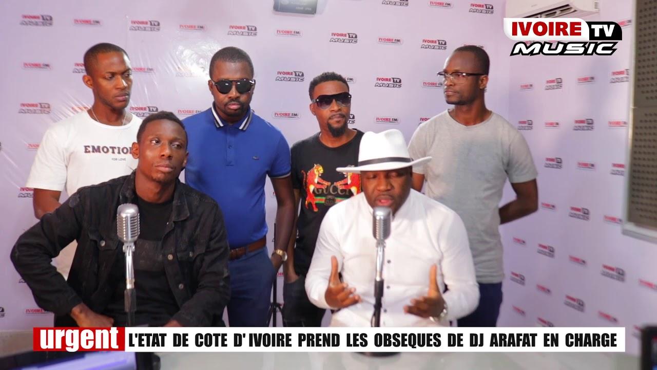 LES OBSEQUES DE DJ ARAFAT PRIS EN CHARGE PAR L'ETAT DE COTE D'IVOIRE