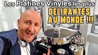Les Platines Vinyles les Plus DÉLIRANTES (100 à 150.000 Euros ) !!