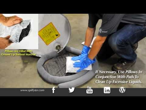 Spilfyter® Universal Sorbent Spill Containment