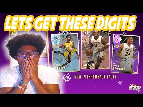 WE ARE GETTING PINK DIAMOND KOBE! MOST OP CARD IN THE GAME