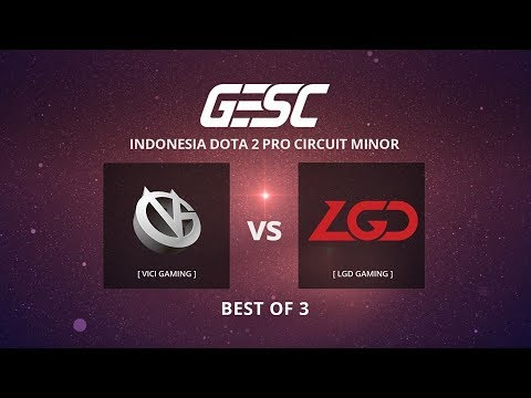 VICI GAMING [CN] vs NEWBEE (CN) [BO3] @GESC Indonesia Dota 2 Jakarta Minor, CN Qualifier Day 1