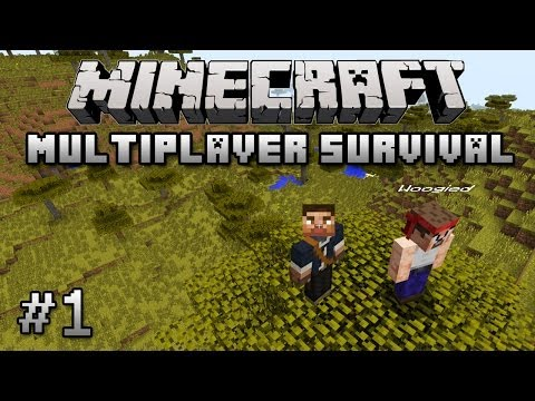 Minecraft Multiplayer Survival - Best Seed Ever - Episode 1 - Let's Play Server 1.7.9 Update Part 1