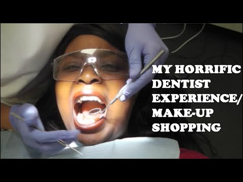 VLOG #8 My Horrific Dentist Experience & Makeup Shopping