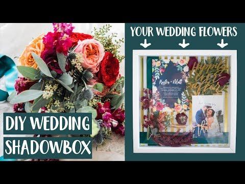 how-to-preserve-your-wedding-flowers-|-diy-shadowbox-|-krismas-day-3