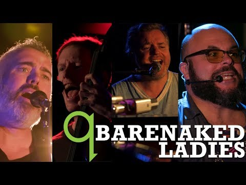 Why Barenaked Ladies can't remember opening for The Tragically Hip