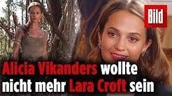 Interview mit Lara-Croft-Schauspielerin Alicia Vikander – Tomb Raider