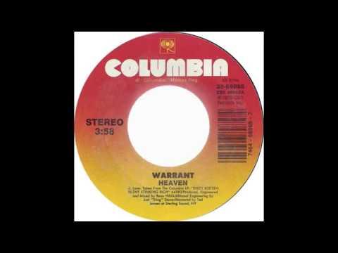 Warrant - heaven - HQ SOUND